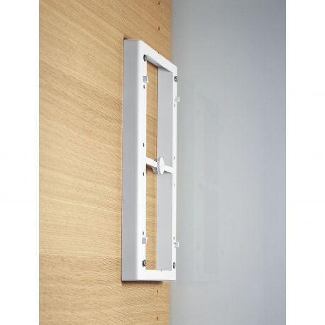 Dištančný rám 20mm biely pre sklop. šatnikovú tyč