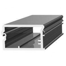 Rehau Top úchytková lišta 46x28mm L-2500mm plast strieborný