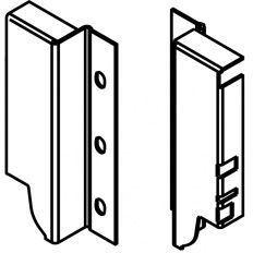 Tandembox držiak chrbta biely K - 130,5mm