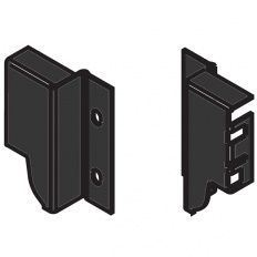 Tandembox držiak chrbta čierny M - 98,5mm