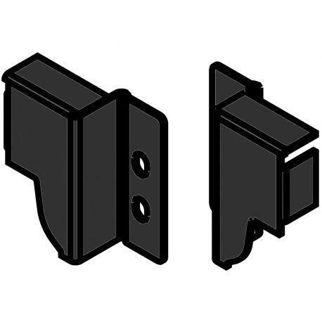 Tandembox držiak chrbta čierny N - 82,5mm