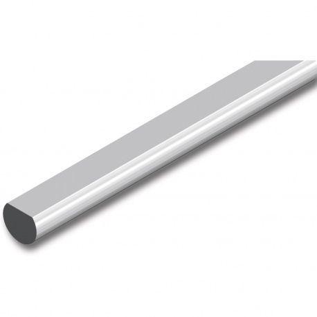 Tyč 6mm pre trojcestné zámky oceľ poniklovaná