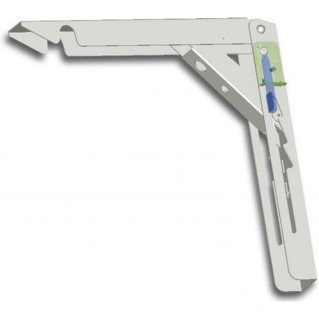 Konzola sklopná Klapponette nosnosť 80kg, 300/300mm, s poistkou