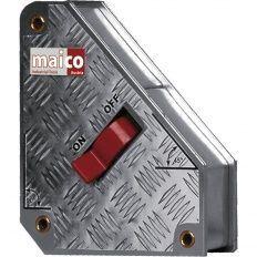Magnet uhlový vypínatelný 95x110x100mm, prídržná sila 31,5-36kg