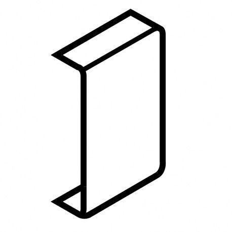 Metabox krytka pre štandardné upevnenie čela, boky M,K,H