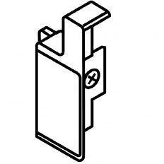 Metabox držiak čela na vnútorné zásuvky krém. biela boky M pravé
