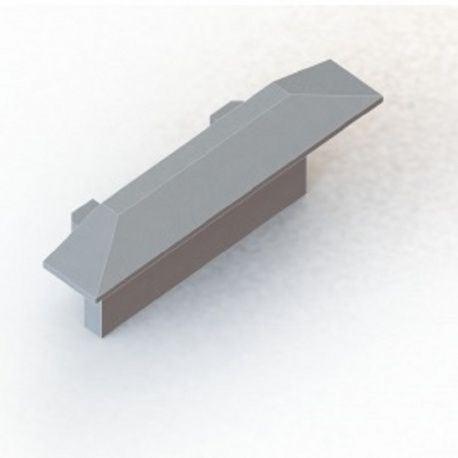 Koncovka k hliníkovému zápustnému profilu YT01