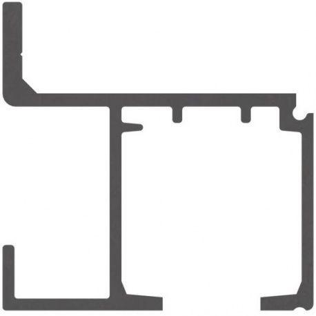 Horná koľajnica pre upevnenie na stenu