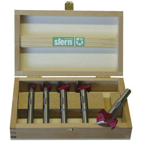 Vrták hrčovník sada Stern HM, 15,20,25,30,35mm