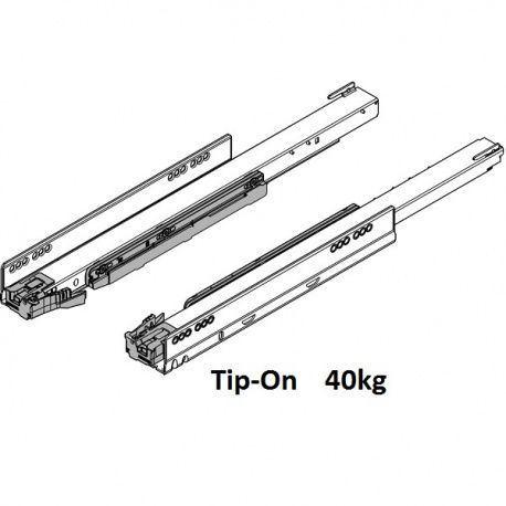 Legrabox korpusové lišty Tip-On