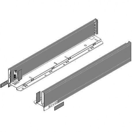 Legrabox súprava bokov sivé M_106, 400mm