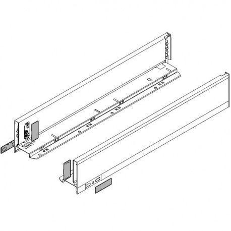 Legrabox súprava bokov biele M_106, 600mm