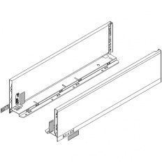 Legrabox súprava bokov biele K_144, 550mm