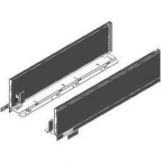 Legrabox súprava bokov čierne K_144, 550mm