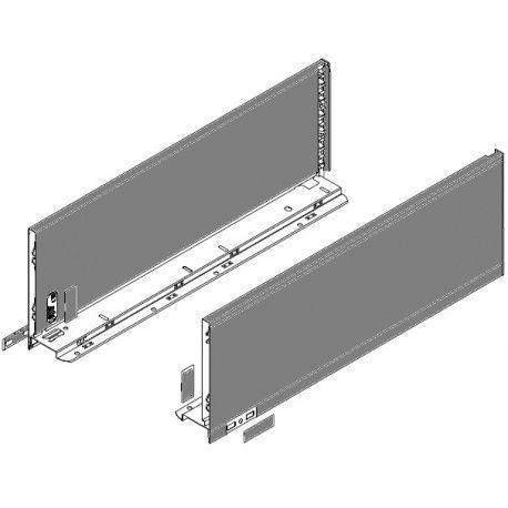 Legrabox súprava bokov sivé C_193, 500mm
