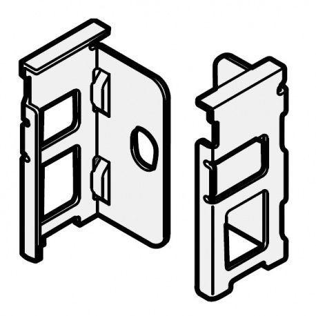 Legrabox držiak chrbta nikel N_80