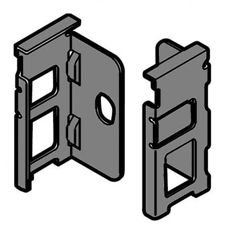 Legrabox držiak chrbta sivý N_80