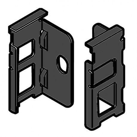 Legrabox držiak chrbta čiery N_80