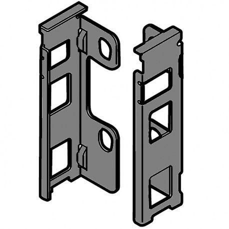 Legrabox držiak chrbta sivý M_106