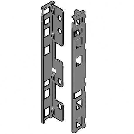 Legrabox držiak chrbta sivý C_193