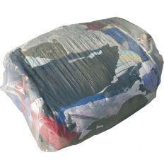 Čistiace handry bavlnené 10kg, farebné