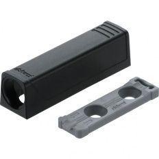 TIP-ON rovná adapt. platnička, krátka verzia čierna