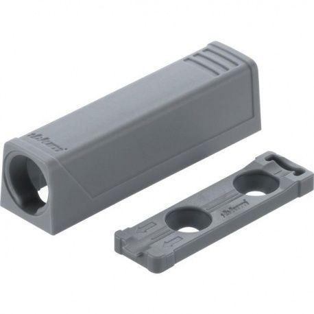 TIP-ON rovná adapt. platnička, krátka verzia šedá