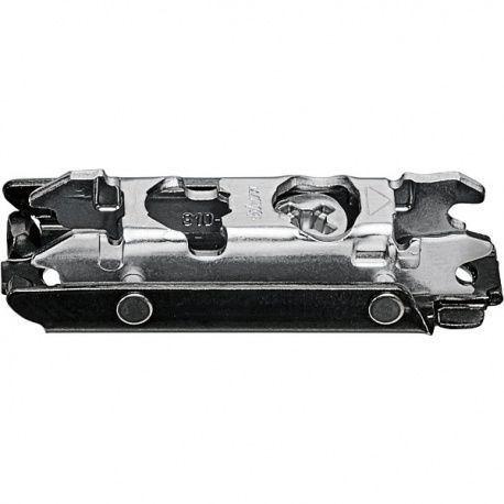 Onyx CLIP podložka priama zvýš. 3mm Excen. oceľ