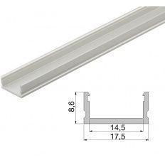 Led profil naložený YT02, ALF1 3000mm