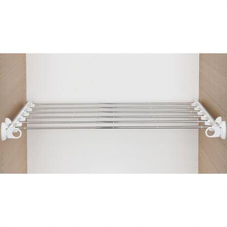 Výsuv na nohavice Twin, 6 tyčí, KB 600-1000mm biely/AL