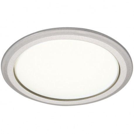 LED zabudované svetlo 8001B-78, 230V / 3,8W strieborné