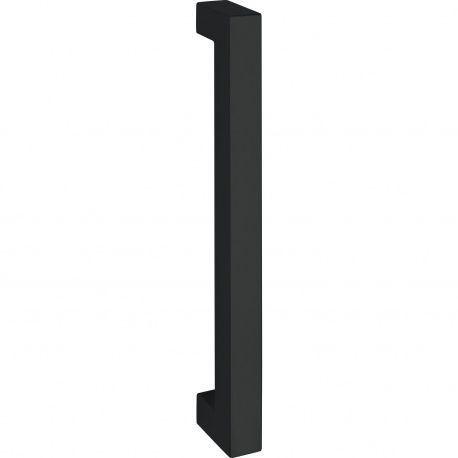 Madlo Marchesi 4842 Quadra 30x30mm antikor čierny, 1200/1170