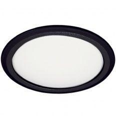 LED zabudované svetlo 8001B-78, 230V / 3,8W čierne