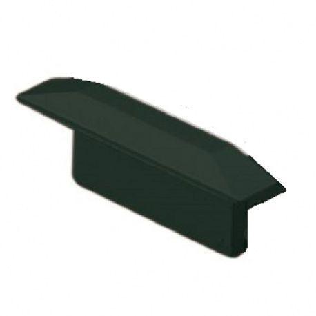 Koncovka k hliníkovému rohovému profilu YT01 čierna