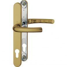 Hoppe Tokyo s úzkym štítkom kľučka-kľuč 92/8mm bronz F4, 73-77mm