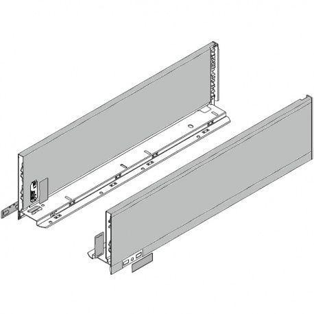 Legrabox súprava bokov Polar strieborná K_144, 550mm