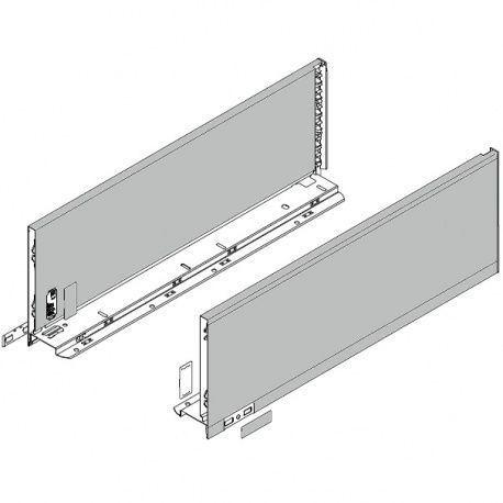 Legrabox súprava bokov Polar strieborná C_193, 450mm
