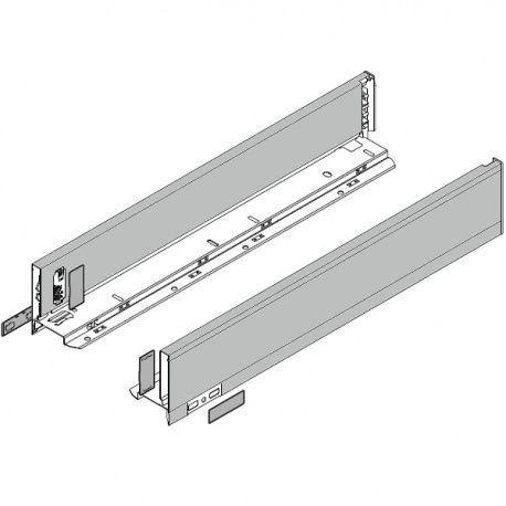 Legrabox súprava bokov Polar strieborná M_106, 600mm