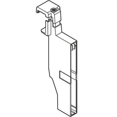 Antaro upínadlo priečky – reling, výška C, biele