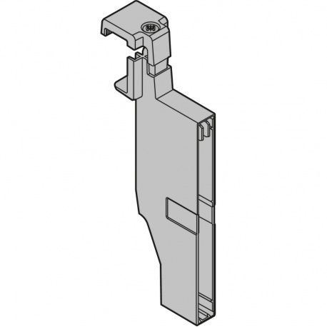 Antaro upínadlo priečky – reling, výška C, sivobiele