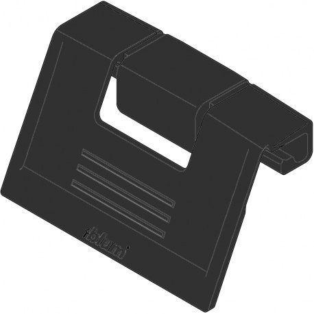 Antaro úchytka pre vnútornú zásuvku, čierna