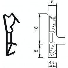 Tesnenie Deventer S 6518a plast