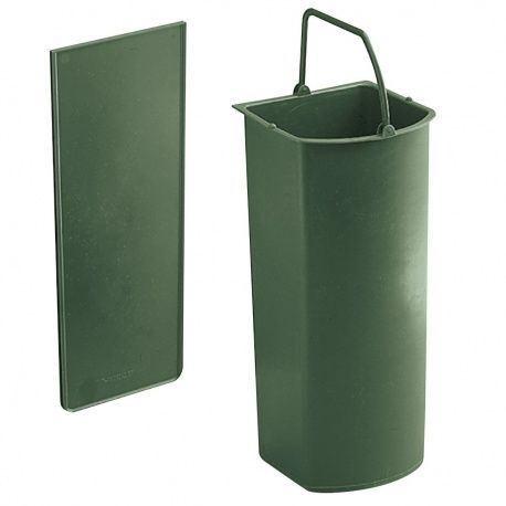 Wesco nádoba na bioodpad s deliacou priečkou, obsah 5 L