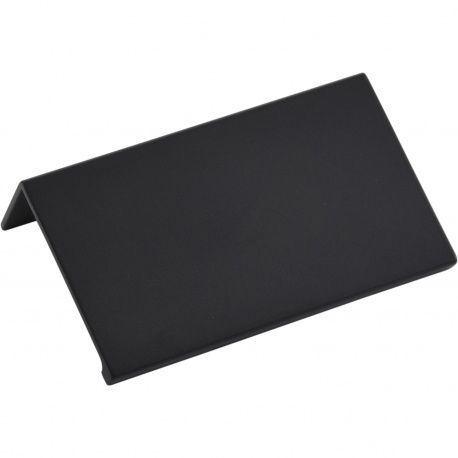 Úchytka Crevan 70mm, AL čierna matná