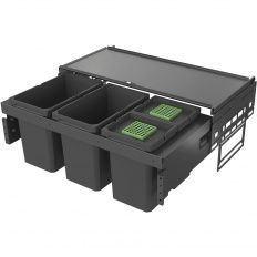 Kôš na odpadky VS ENVI Space Pro v-370mm