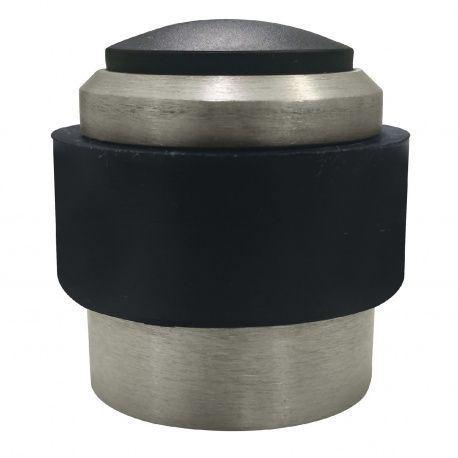 Dverový doraz univerzálny, d-35mm v-32mm, hliník strieborne elox