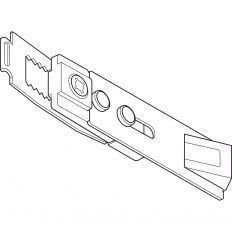 Geze aretačná jednotka pre štandardnú/ T-Stop/ Boxer 20.7mm klzn