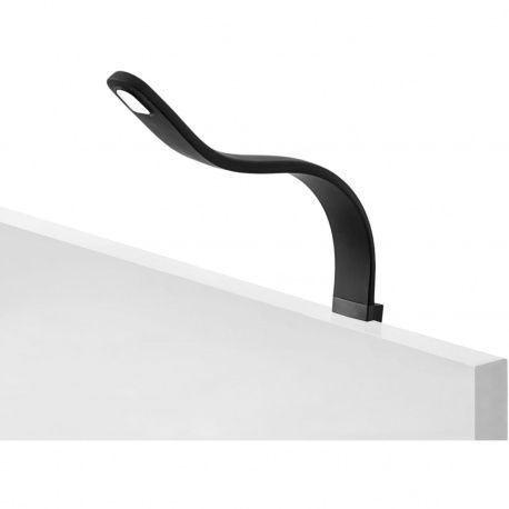 LED svietidlo na postel Silka, 12 V/DC 1,2W, čierne