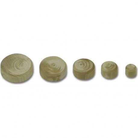 Vyspravovacia drevená hrča smrek, bal.500ks 10, 15, 20, 25, 30mm