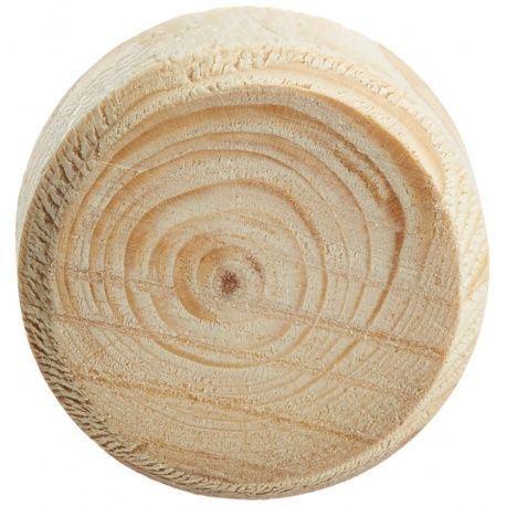 Vyspravovacia drevená hrča smrek, výška 9mm, bal.-250ks
